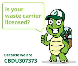 Licensed waste carrier waste clearence Essex
